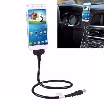 Flexible Metal Soft Micro USB to USB Data Charging Cable