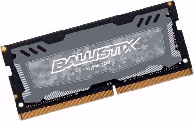 Ballistix Sport LT 8GB DDR4 2666MHz SO-DIMM - Grey