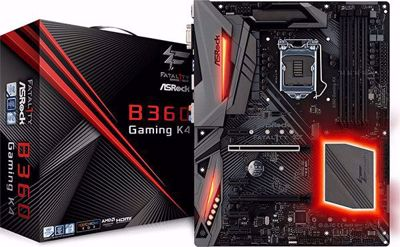 ASRock Fatal1ty B360 Gaming K4 Motherboard ATX