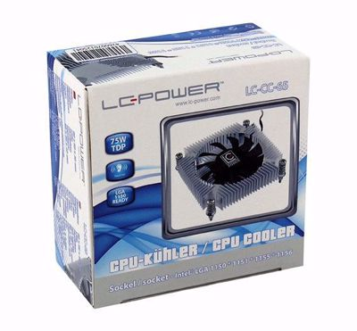 Picture of Cpu Cooler LC-Power Cosmo Cool LC-CC-65 for IntelSocket 1150 / 1151 / 1155 / 1156