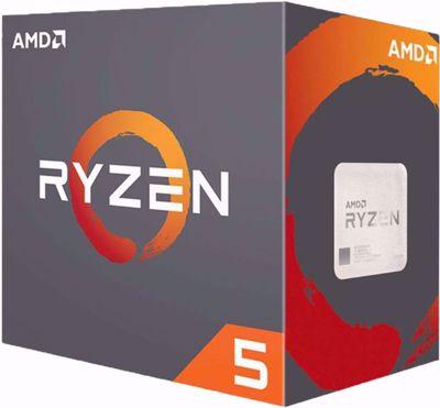 AMD CPU Ryzen 5 2600X Wraith Spire (AM4/3.60 GHz/19 MB)