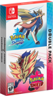 POKEMON SWORD AND SHIELD DUAL EDITION - WITH FIGURINE - ( NS )