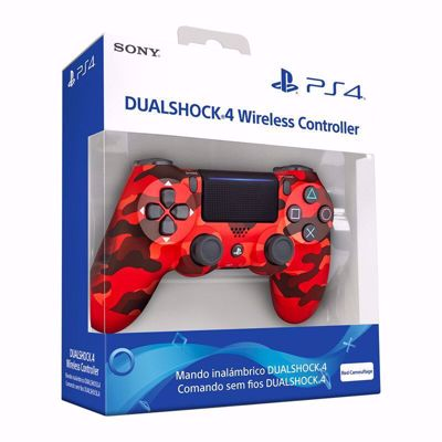 Sony Dualshock 4 Controller Red Camo v2