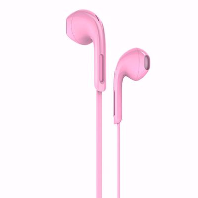 HOCO M39 Universal 3.5mm Wired Rhyme Sound Headphone with Microphone - Pink
