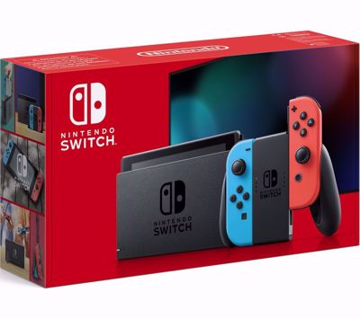 Nintendo Switch Κονσόλα Red&Blue