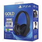 Sony Gold/Black Wireless Headset Fortnite Neo Versa PS4