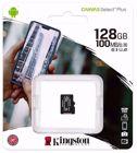 Kingston Canvas Plus C10, 128 GB, A1 SDHC, Read 100MB/S (SDCS2/128GBSP)