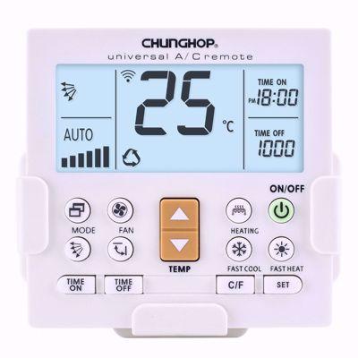 Chunghop Universal A/C Remote Control (K-650E)(White)