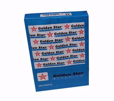Golden Star 500 φύλλα Χαρτί εκτύπωσης A4 (80g)