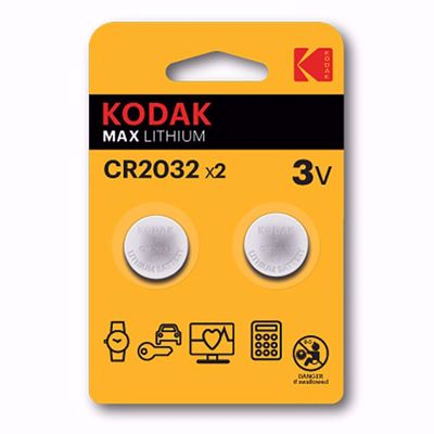 KODAK MAX LITHIUM CR2032 μπαταρίες DoublePack
