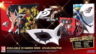 Persona 5 Royal -Phantom Thieves Edition- ( PS4 )