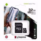 KINGSTON Canvas SDCS2/32GB Κάρτα μνήμης 32GB microSDXC + SD adaptor