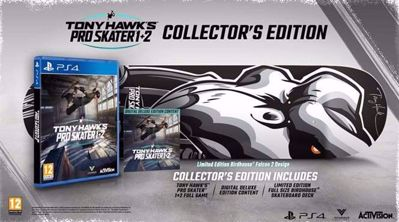 Tony Hawk Pro Skater 1-2 Remastered Collector's Edition ( PS4 )