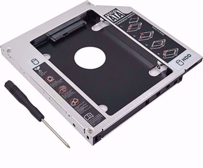 LOGILINK AD0017 UNIVERSAL 2ND SATA HDD CADDY 9.5MM