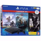 Sony Playstation 4 1ΤΒ + Horizon Zero Dawn + God of War + The Last of Us Playstation Hits