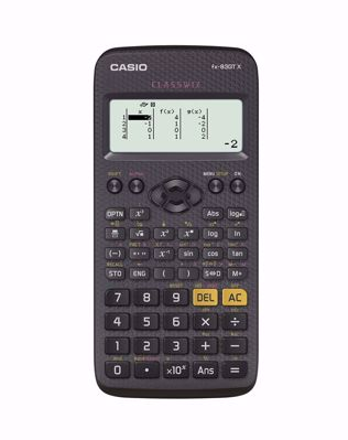 Casio Fx-83GTX Scientific Calculator, Black