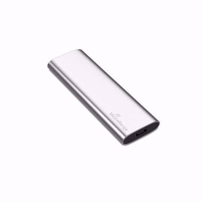 MediaRange Εξωτερικός Σκληρός Δίσκος SSD USB Type-C 240GB (Silver  MR1101)
