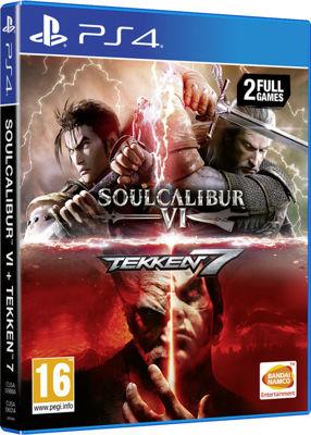 Soulcalibur VI - Tekken 7 ( 2 Full Games PS4 )