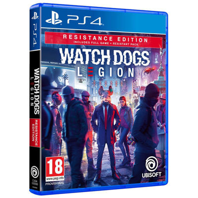 Watch Dogs Legion Resistance Edition ( PS4 )