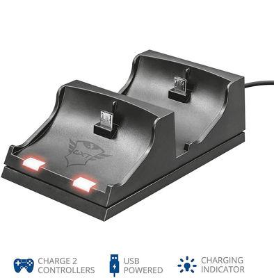 Trust GXT 235 Duo Charging Dock - Βάση Φόρτισης PS4