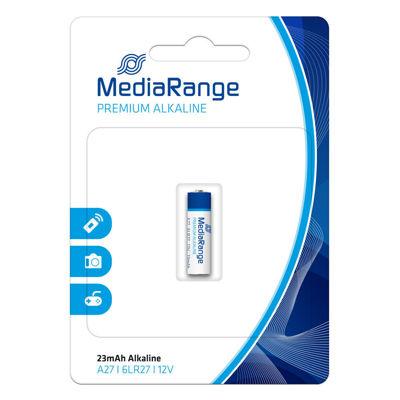 Αλκαλική Μπαταρία MediaRange 6LR27 Premium A27 12V (MRBAT115)