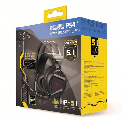 STEELPLAY 5.1 WIRED HEADSET - HP51 (MULTI)