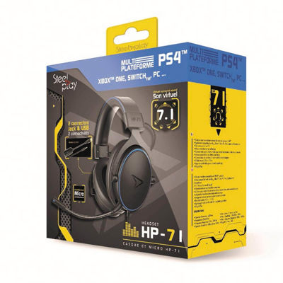 STEELPLAY WIRED HEADSET - VIRTUAL SURROUND SOUND - HP-71 (MULTI)