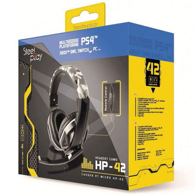 STEELPLAY HP41 WIRED GAMING HEADSET - Camo