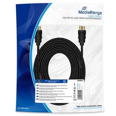 MediaRange HDMI High Speed With Ethernet 10m Καλώδιο