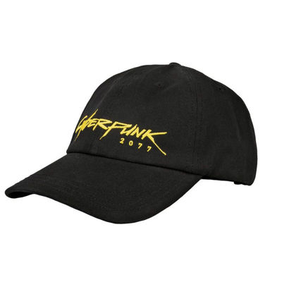 Cyberpunk 2077 - Logo - Cyberdad Snap Back Cap - Black (Cap)