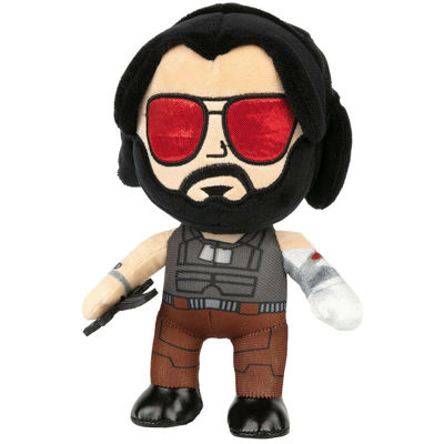 Φιγούρα Cyberpunk 2077 - Johnny Silverhand Plush (22cm)