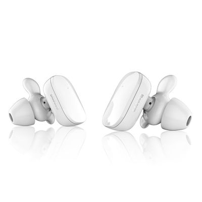 BASEUS Encok W02 Noise Reduction HD HiFi Stereo Sound - Bluetooth 4.2 Binaural Earbuds - White