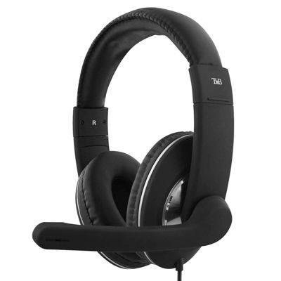 TNB  HS-500 USB HEADPHONES WITH MICROPHONE