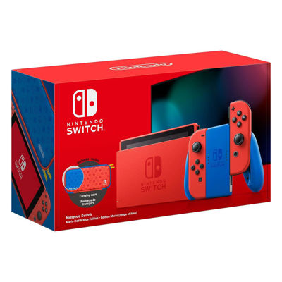 Nintendo Switch Console Mario Red/Blue Joy-Con Special Edition