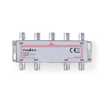 NEDIS Satellite Splitter 8 OUTPUTS - SSPL800ME