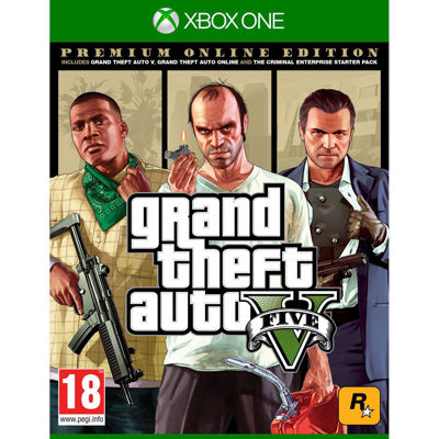Grand Theft Auto 5 - Premium Online Edition ( XB1 )