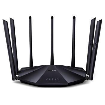Tenda AC23 wireless Router AC2100 Dual-band (2.4 GHz / 5 GHz) Gigabit Ethernet 1000Mbps Black