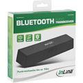 InLine® Bluetooth Audio Transceiver, Receiver / Transmitter, BT 5.0, aptX, 3.5mm + Toslink