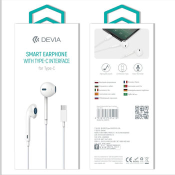 DEVIA Smart Earphone With TYPE-C interface