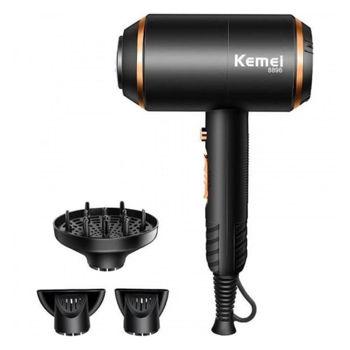 KEMEI Km-8896 - Επαγγελματικό Σεσουάρ Μαλλιών Με Φυσούνα Kemei 3 Σε 1 4000w Με Τεχνολογία Ionic