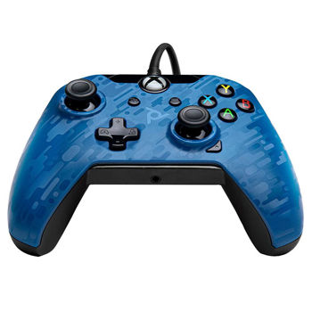 PDP Wired Controller Χειριστήριο - Xbox One Controller & PC - Blue Camo