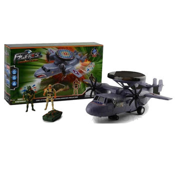 AWACS 4IN1 Military Helicopter TOY