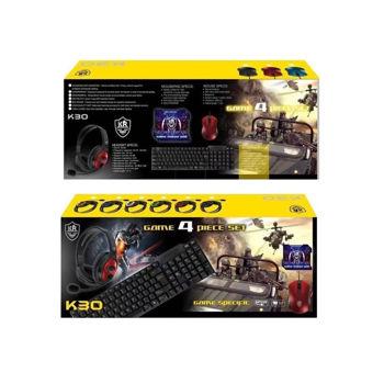 K30 – Πλήρες σετ Gaming 4 σε 1