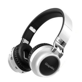 Magena B20 Wireless Headphone Bluetooth 5.0 Earphone Handsfree Headset Noise Cancelling - White