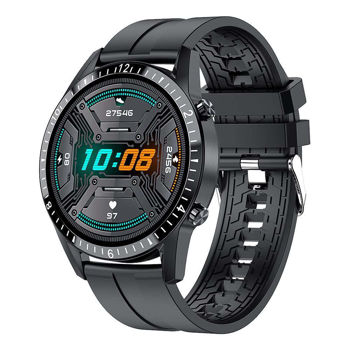 L61 Smartwatch Rotatable Round Full Touch Screen Multi-language Sports Mode